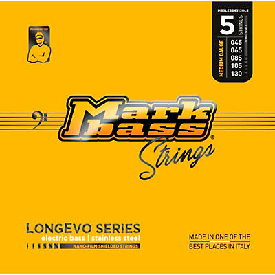 Markbass Longevo Series Nano Film Electric Bass Stainless Steel 5 Strings