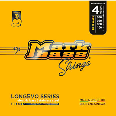 Markbass Longevo Series Nano Film Electric Bass Stainless Steel Strings