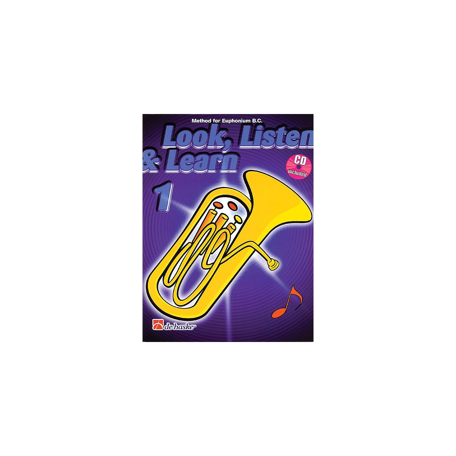 Hal Leonard Look, Listen & Learn - Method Book Part 1 (Euphonium (B.C.)) De Haske Play-Along Book Series