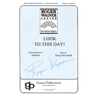 Gentry Publications Look to This Day! SATB arranged by Doug McConnell