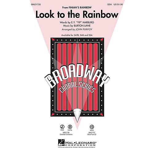 Hal Leonard Look to the Rainbow (from Finian's Rainbow) SSA arranged by John Purifoy