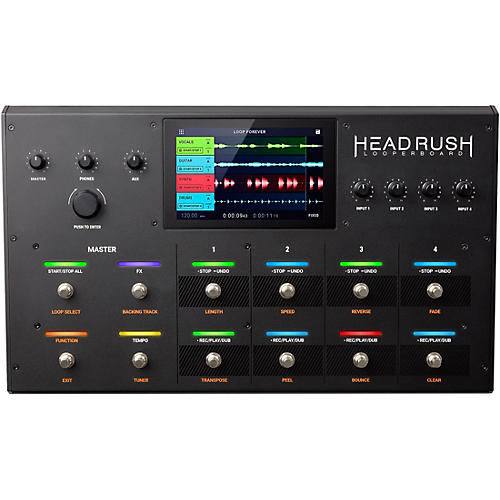 HeadRush Looperboard Looper Effects Processor Pedal