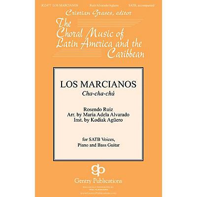 Gentry Publications Los Marcianos SATB arranged by Maria Adela Alvarado