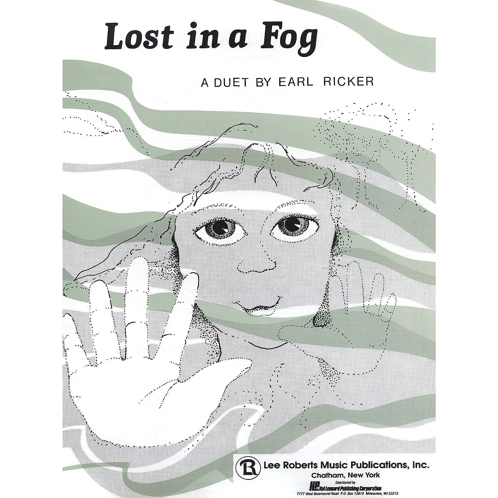 Lee Roberts Lost in a Fog Pace Duet Piano Education Series Composed by Earl Ricker