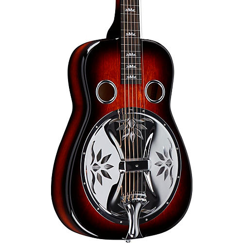 Beard Guitars Lotus Squareneck Acoustic-Electric Resonator Guitar Tobacco Burst
