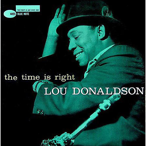Alliance Lou Donaldson - The Time Is Right