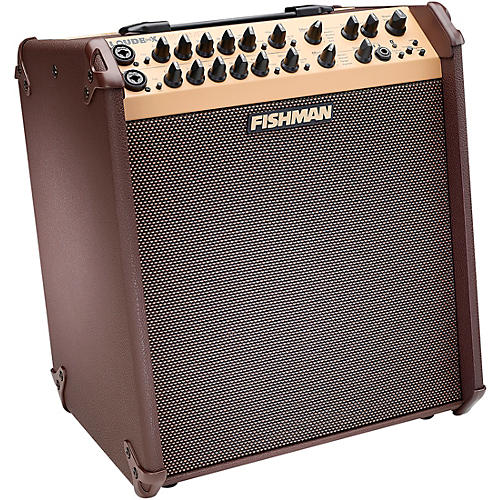 Fishman Loudbox Performer 180W Bluetooth Acoustic Guitar Combo Amp Brown