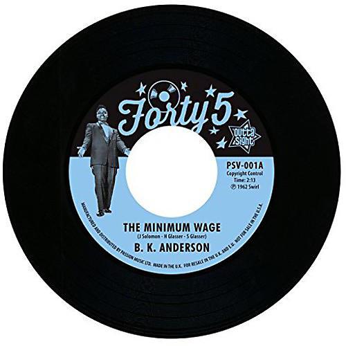 Alliance Louis B.K.Anderson Jordan - Minimum Wage/Workin' Man