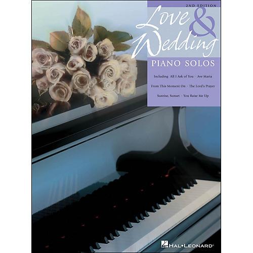 Hal Leonard Love And Wedding Piano Solos