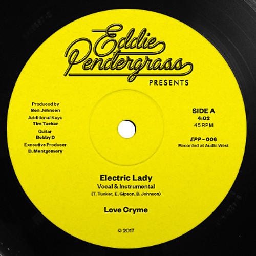 Alliance Love Cryme - Electric Lady / Under The N Fluence