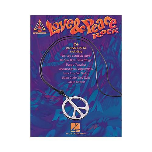 Hal Leonard Love & Peace Rock Guitar Tab Songbook