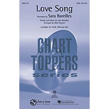 Cherry Lane Love Song SATB by Sara Bareilles arranged by Mark Brymer