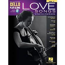 Hal Leonard Love Songs Cello Play-Along Volume 7 Book/Audio Online
