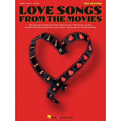 Hal Leonard Love Songs From The Movies Piano, Vocal, Guitar Songbook