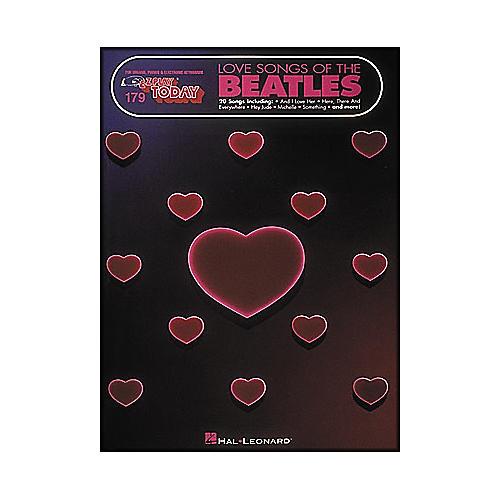 Hal Leonard Love Songs Of The Beatles E-Z Play 179