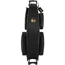 Open BoxGard Low Bb Baritone Saxophone Wheelie Bag