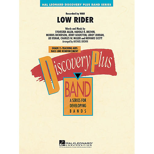 Hal Leonard Low Rider - Discovery Plus Concert Band Series Level 2 arranged by Michael Brown