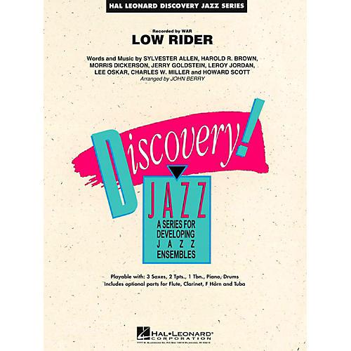 Hal Leonard Low Rider Jazz Band Level 1.5