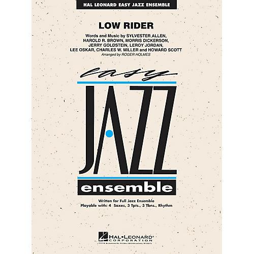 Hal Leonard Low Rider Jazz Band Level 2 Arranged by Roger Holmes