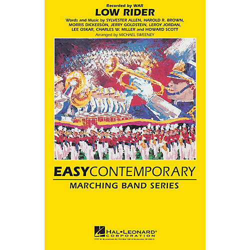 Hal Leonard Low Rider Marching Band Level 2 Arranged by Michael Sweeney