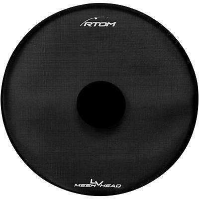 RTOM Low Volume Mesh Bass Drum Head