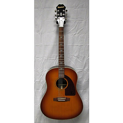 "Epiphone Ltd Ed Peter Frampton ""1964"" Texan Acoustic Electric Guitar"