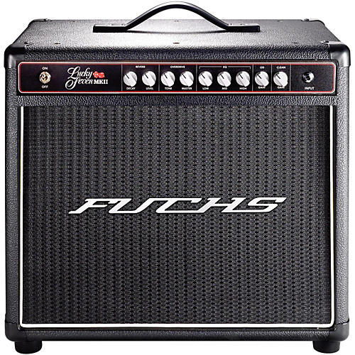 Fuchs Lucky 7W Tube Guitar Combo Mini-Amp and 4-Button Artist Footswitch Kit