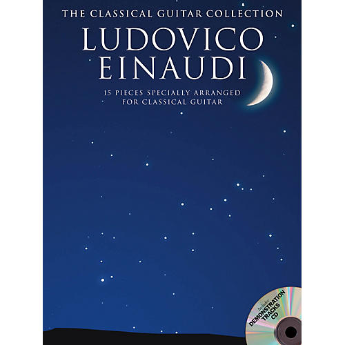 Music Sales Ludovico Einaudi - The Classical Guitar Collection Guitar Series Softcover with CD by Ludovico Einaudi