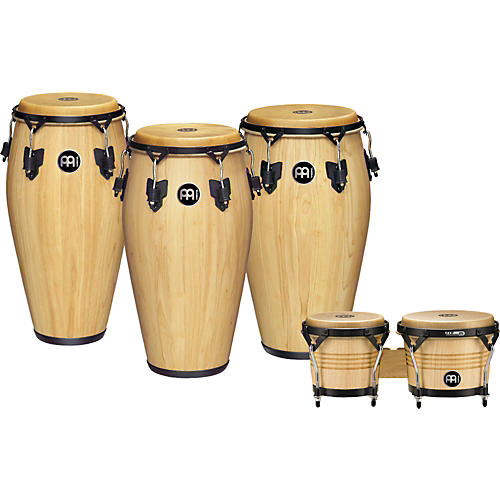 Meinl Luis Conte 3-Piece Conga Set With Free Bongos