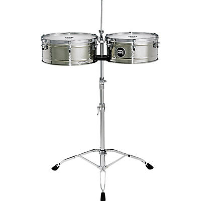 Meinl Luis Conte Stainless Steel Timbales