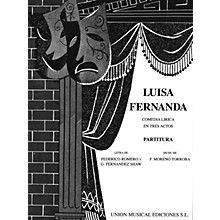 Music Sales Luisa Fernanda (Vocal Score) Vocal Score Composed by Federico Moreno-Torroba