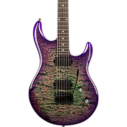 Ernie Ball Music Man Luke 3 HH Maple Top Electric Guitar Grapes of Wrath