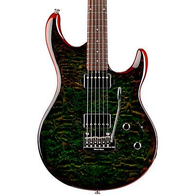 Ernie Ball Music Man Luke 3 HH Quilt Maple Top Rosewood Fingerboard Electric Guitar