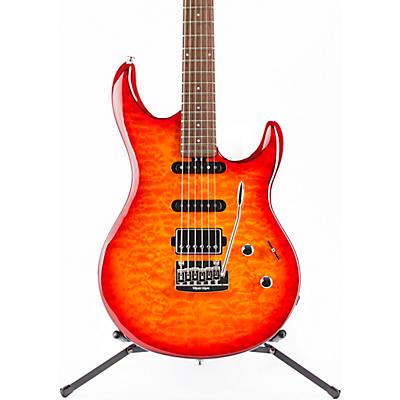 Ernie Ball Music Man Luke 3 HSS Quilt Maple Top Rosewood Fingerboard Electric Guitar
