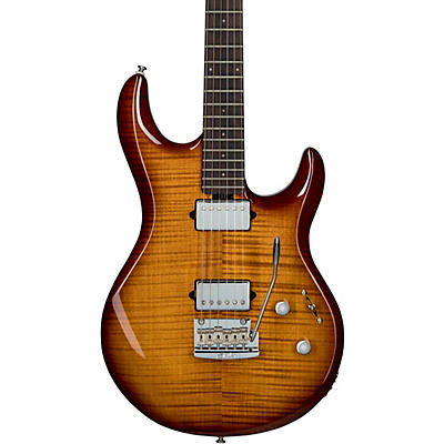 Sterling by Music Man Luke Flame Maple Top Electric Guitar
