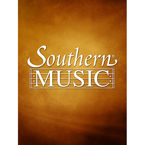 Southern Lullaby SA Composed by Anna Marie Gonzalez