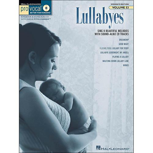 Hal Leonard Lullabyes - Pro Vocal Songbook & CD For Female Singers Volume 53