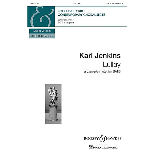 Boosey and Hawkes Lullay from Stella Natalis SATB a cappella composed by Karl Jenkins