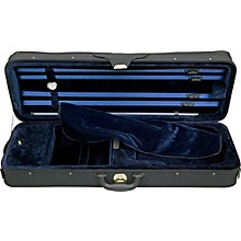 Open Box Bellafina Luxolite Violin Case