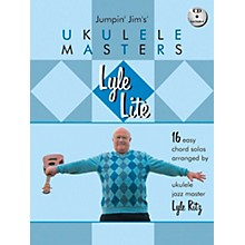 Hal Leonard Lyle Lite: 16 Easy Chord Solos Arranged by Ukulele Jazz Master Book/CD