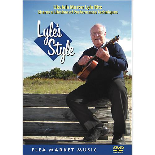 Hal Leonard Lyle's Style: Ukulele Master Lyle Ritz Shares A Lifetime Of Performance Technique (DVD)