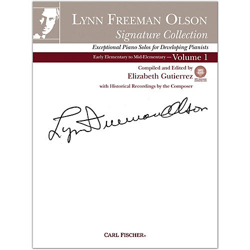 Carl Fischer Lynn Freeman Olson Collection for Piano (Book + CD) Volume 1