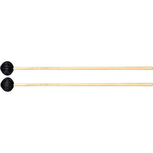 Marimba One Lynn Vartan Signature Rattan Handle Mallets Soft Charcoal/Black Yarn