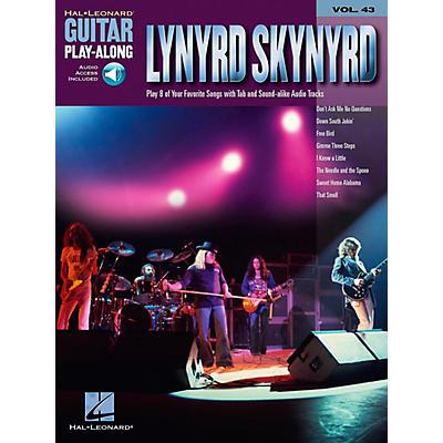 Hal Leonard Lynyrd Skynyrd - Guitar Play-Along Volume 43 Book and CD