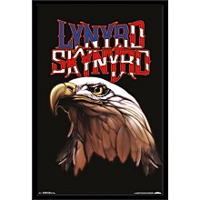 Lynyrd Skynyrd - Majestic Poster Framed Black