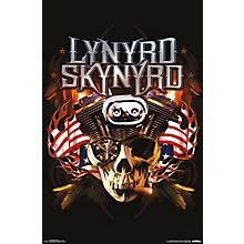 Lynyrd Skynyrd - Motor Poster Premium Unframed