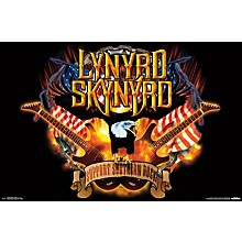Trends International Lynyrd Skynyrd - Support Poster