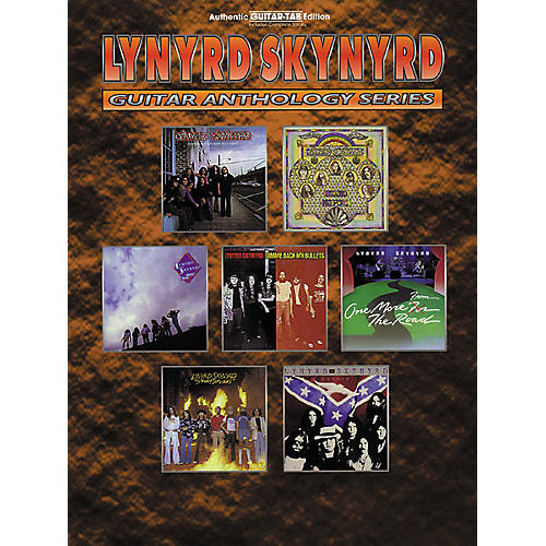 Hal Leonard Lynyrd Skynyrd Guitar Anthology Guitar Tab Book