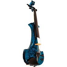 Lyra Series 5-String Electric Violin Blue Marble