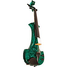 Lyra Series 5-String Electric Violin Green Marble